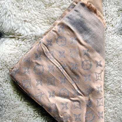 Chal Pashmina Monogram Denim M76068