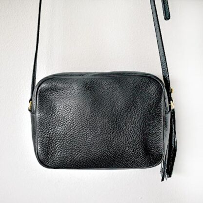 Gucci Soho Small Black Leather Disco Bag