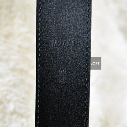 Louis Vuitton Cinturón Hombre Negro