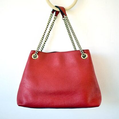 Gucci Red Soho Leather Shoulder Bag