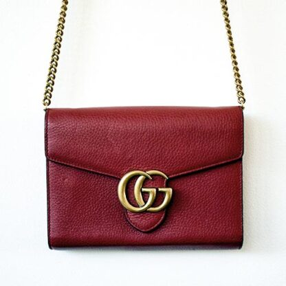 Gucci GG Marmont Chain Wallet