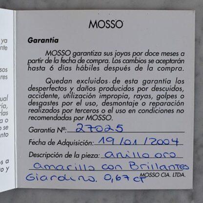Anillo Mosso Flor