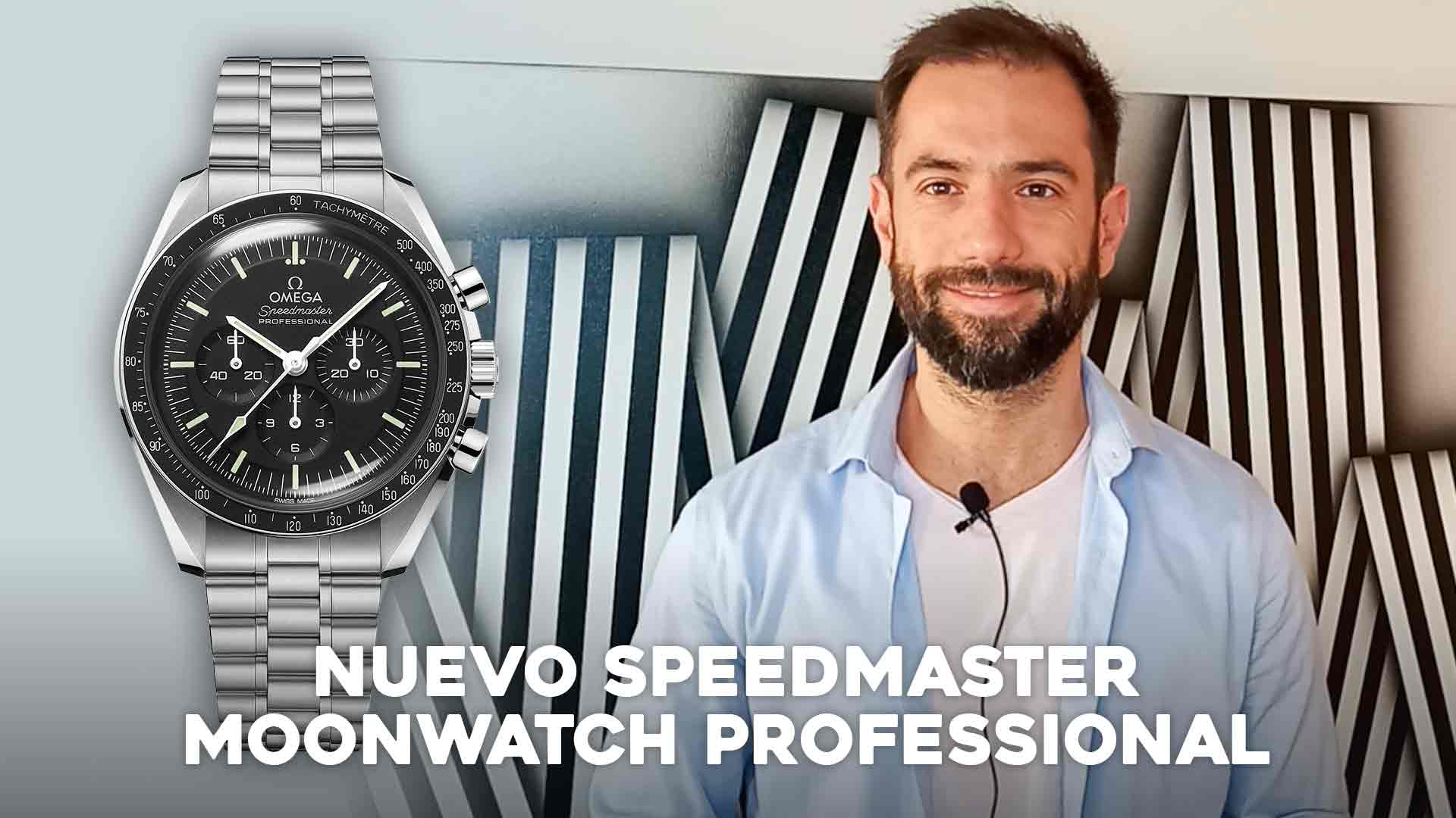 Nuevo Speedmaster Moonwatch Professional