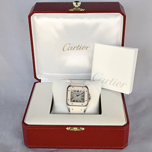 Cartier Santos 100 Ladies