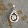 Colgante Gota Diamantes