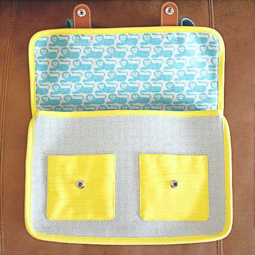 Hermès Animaux Pixel School Bag