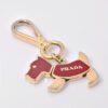 Prada Dog Keychain Charm